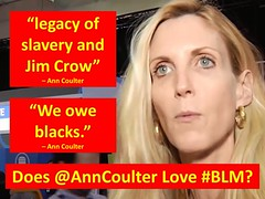 Coulter Loves BLM