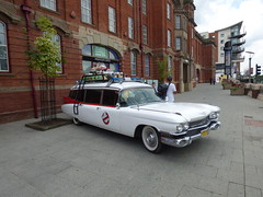 Ghostbusters - Ecto 1 - Broadway Plaza