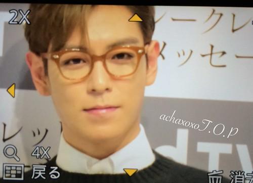 TOP - Secret Message Tokyo Première - 02nov2015 - achaxoxoTOP - 03