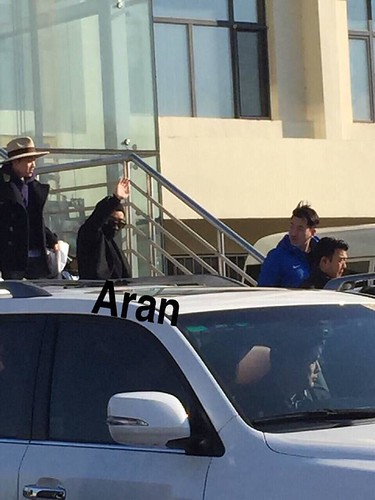 Big Bang - Harbin Airport - 21mar2015 - Seung Ri - Aran - 03