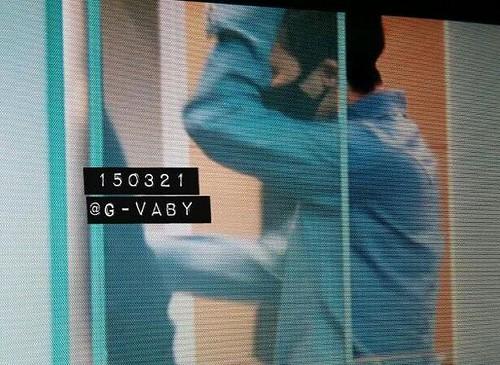 Big Bang - Incheon Airport - 21mar2015 - G-Dragon - G_Vaby - 06