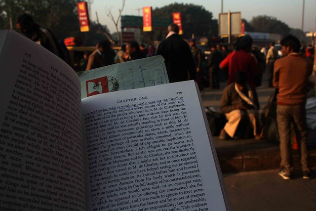 City Reading – The Delhi Proustians XXXIV, Old Delhi Railway Station