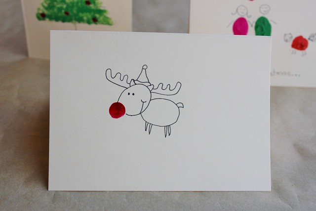 Home made Christmas cards