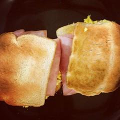 sandwich, meal, lunch, breakfast, junk food, bread, ham and cheese sandwich, ciabatta, food, dish, cuisine, sliced bread, fast food, toast,