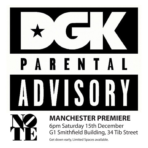 DGK Parental Guidance Manchester premiere.