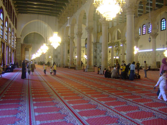 Inside Umayyad Mosque, Damascus