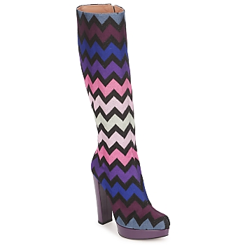 Missoni Printed Tall Couture Boots