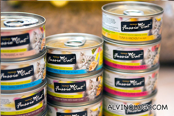 Fussie Cat Canned Wet Food