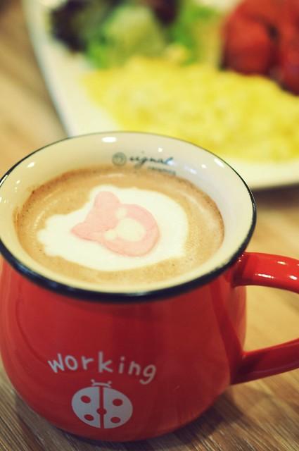 Hot Chocolate - $4.5