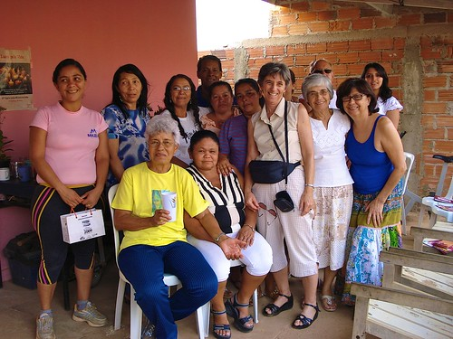 Women of the Solidarity Economy Project with the Intercongregational Missionary Team