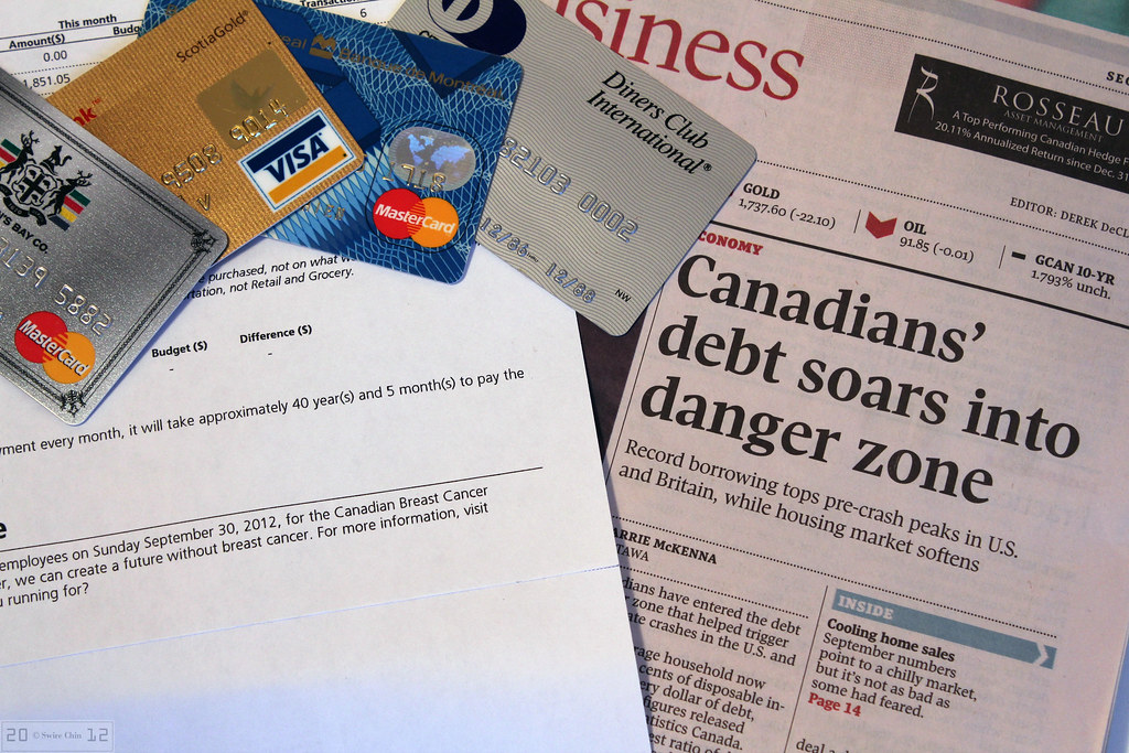 Canadian Household Debt Reaches Record High, Again