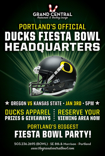 Watch Fiesta Bowl in Portland @ Grand Central Bowl