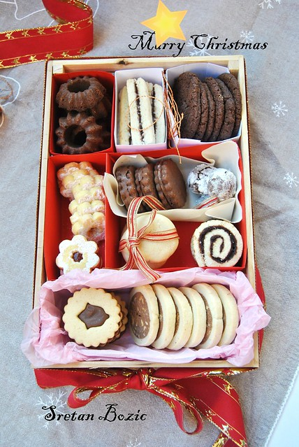Cookie selection for Christmas