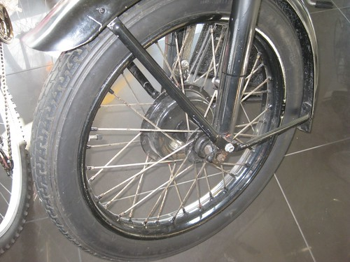 Zundapp Motorcycle - Front Brake