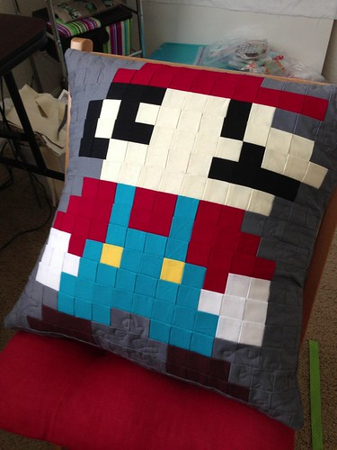 Super Mario pillow!