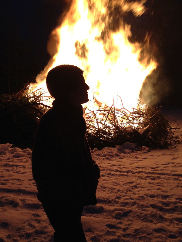 me & the bonfire