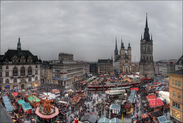 Weihnachtsmarkt in Halle(Saale)
