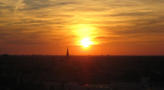 Sonnenuntergang @ Humboldthain