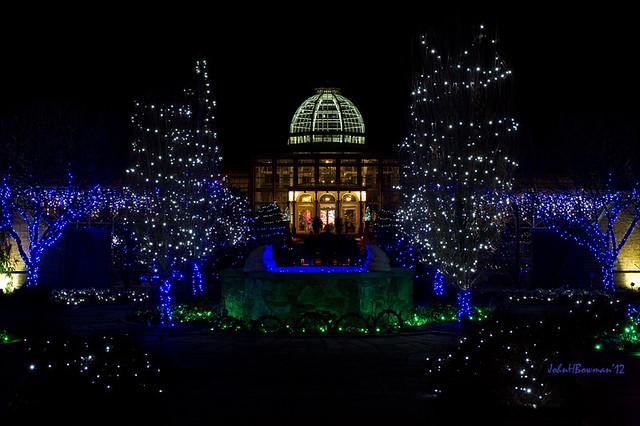 Holiday Lights Lewis Ginter Botanical Garden Flickr Photo Sharing