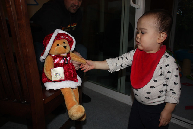 Vincent Dancing Christmas Bear
