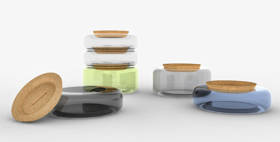 +/- Jars by Dan Yeffet and Lucie Koldova