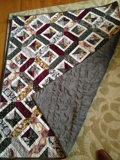 Double Crossed quilt. Pattern by Amy Smart.