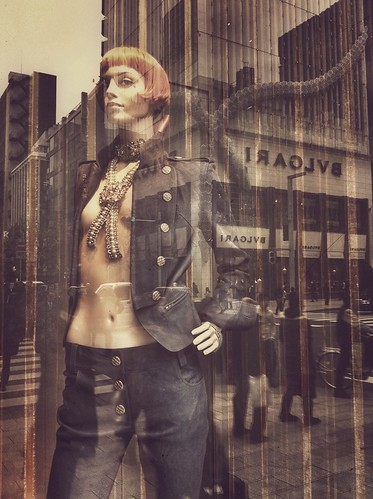 Chanel mannequin in Ginza