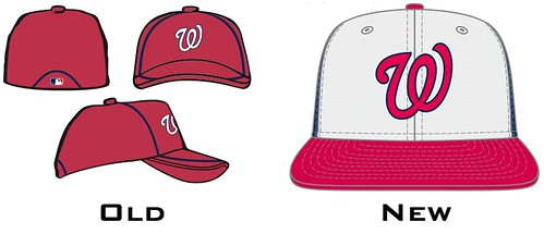 Washington Nationals Batting Practice caps