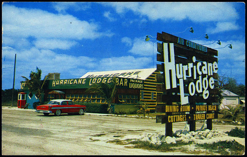 Hurricane Lodge, 1956