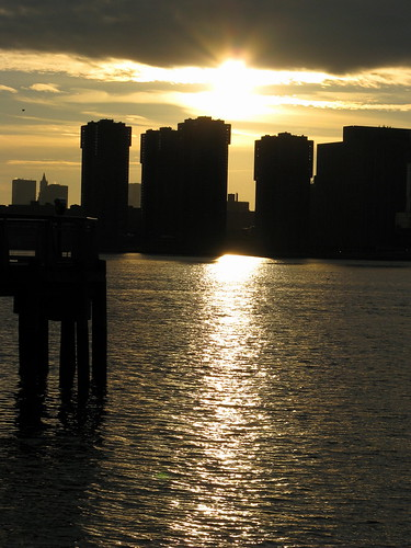 Sunset Over The East River