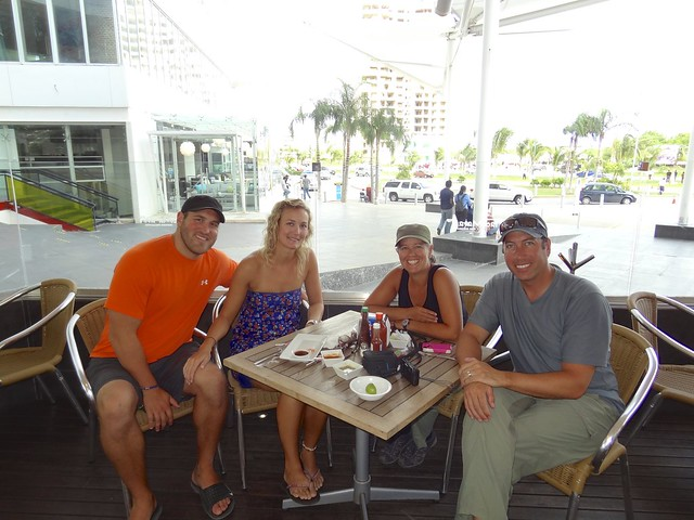 lunch with Tami and Bob