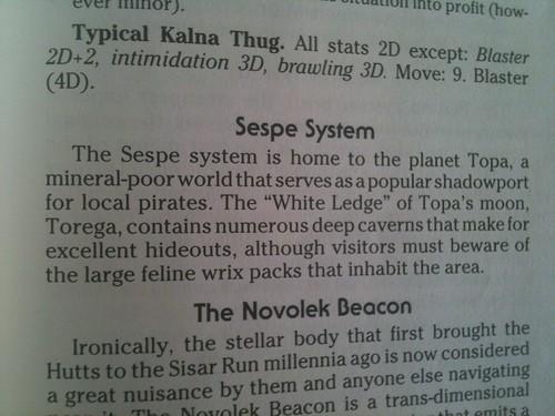 Sespe, Topa, White Ledge