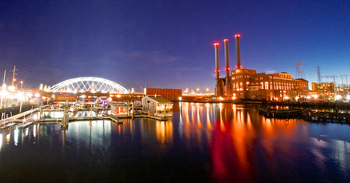 Bridge and Power Plant by Armadillo Commander via I {heart} Rhody