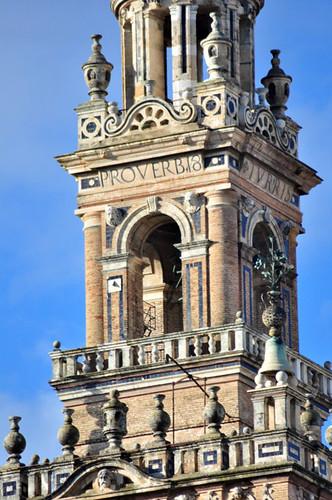 Detalle de la Giralda Catedral de Sevilla, sepulcro de la historia de américa - 8323079444 a7dfb64f9c - Catedral de Sevilla, sepulcro de la historia de américa