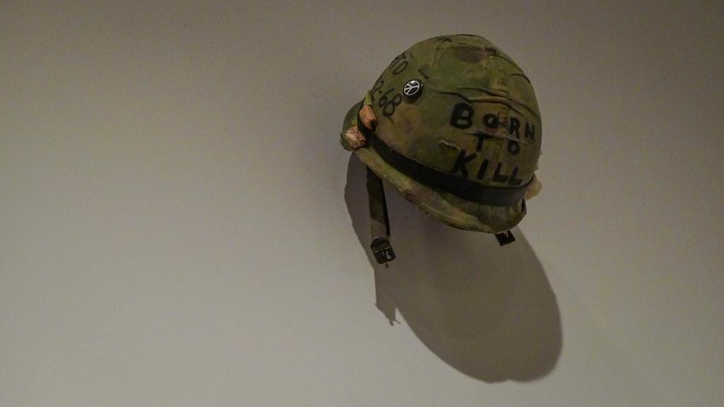 Full metal jacket joker helmet