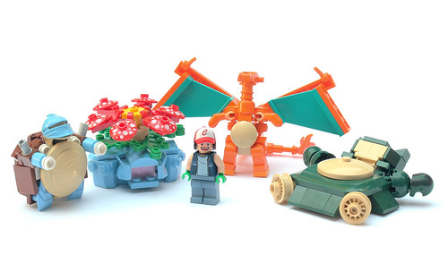 LEGO Pokemon by Carson Hart on Flickr