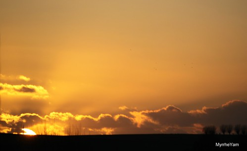 Couché de soleil en ce premier jour de l'An by Myrrhe Yâm au pays de Mandal{âme}