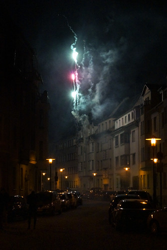 Big Bang in German city on New Years Eve by anitam.com