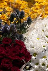 3 part flower arrangement