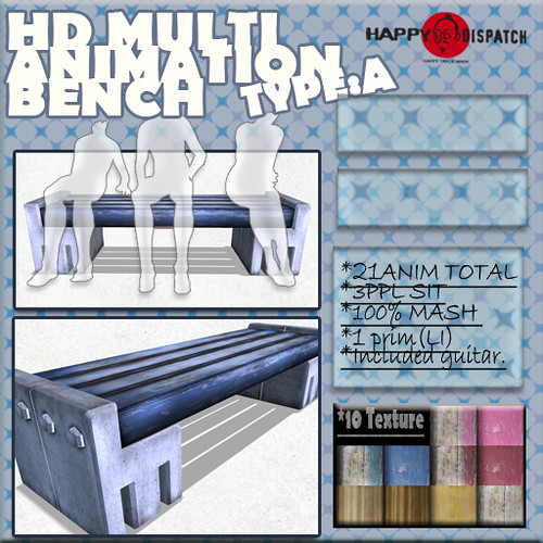 HD MULTI ANIMATION BENCH  TYPEA