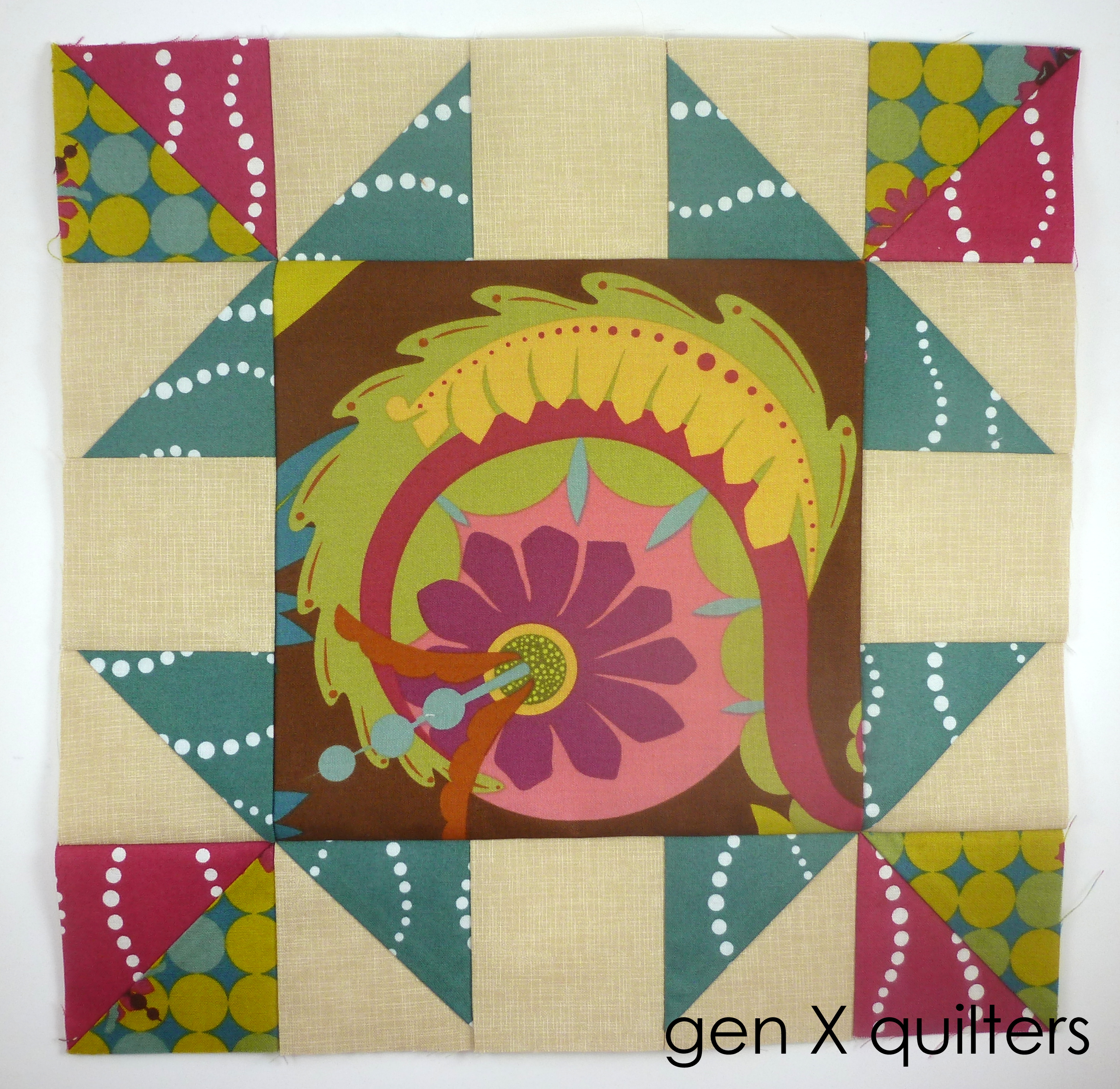 Jan Sisters Ten BOM Block #2