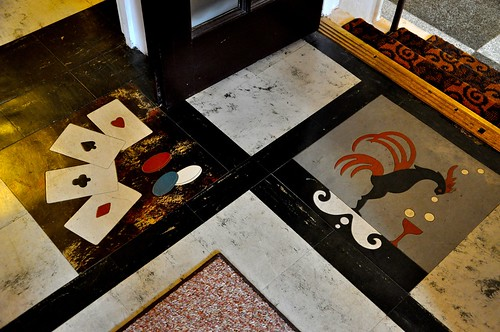 General Francis Marion Hotel Game Room Floor