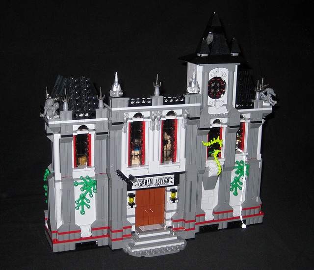 arkham asylum lego instructions