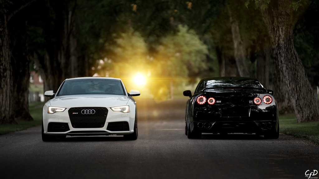 gtr vs rs5 wallpaper