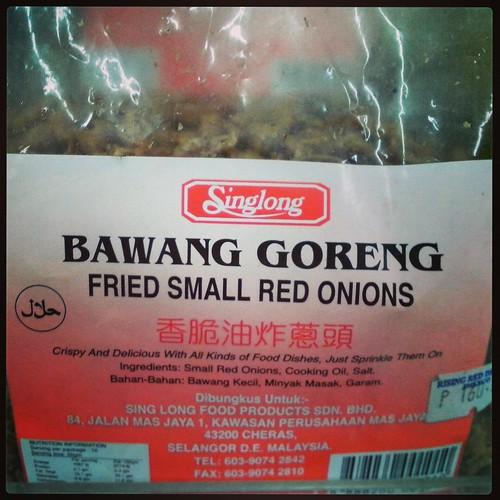 Bawang = Onion