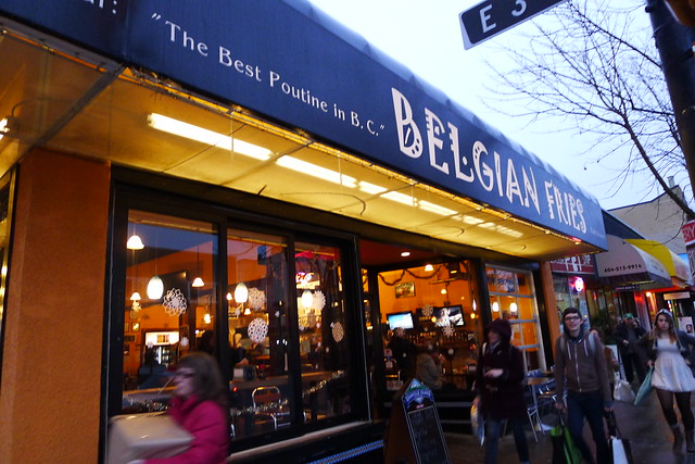 belgian fries vancouver