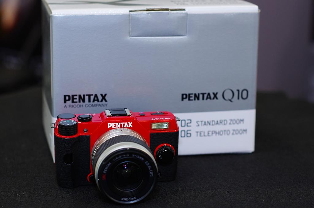 Pentax Q10 保養品來了