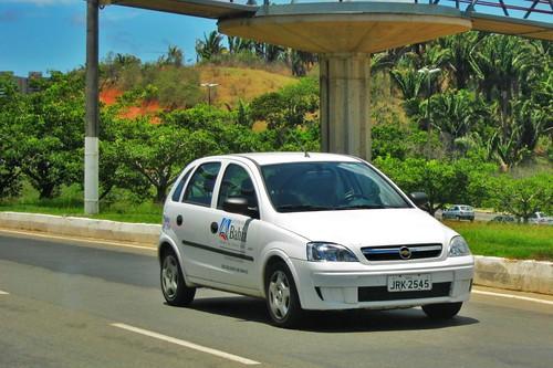 Chevrolet Corsa. Governo da Bahía