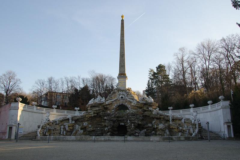Obeliskbrunnen, Schönbrunn Palace