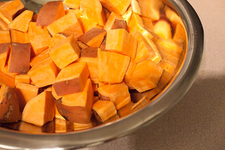 Sweet Potato Chunks